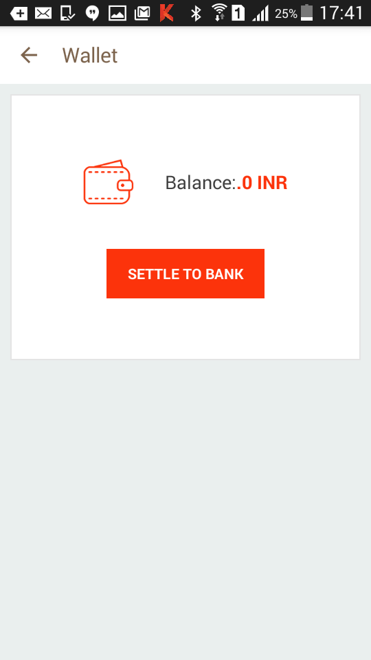 "Enter a unique password to create your Citrus Wallet. You can withdraw money anytime by clicking on ""Settle To Bank"
